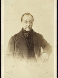 Auguste Comte French Philosopher Photographic Print by Trinquart