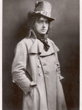 Sir John Martin-Harvey, English Actor-Manager as Sydney Carton in the Only Way Based Photographic Print