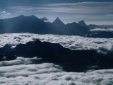 Aerial of Mountain Peaks of Karakoram Range, Karimabad, Pakistan Photographic Print by Richard I'Anson