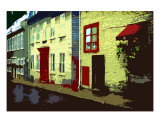 Rue, Quebec City Photographic Print by Alison Burke Griffiths