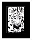 Snow Leopard Giclee Print by Lori White