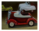 Toy Pedal Cars Photographic Print by Doug Strickland