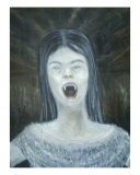 Vampire Giclee Print by Rachel Allen