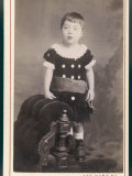 Velvet Frock 1880s Photographic Print