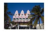 Ornate Dutch Building Oranjestad Aruba Photographic Print by George Oze