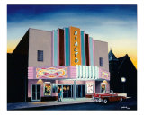 Rialto Theater, Searcy, Arkansas Giclee Print by Glenn Pollard