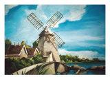 Windmill Giclee Print by tara benet