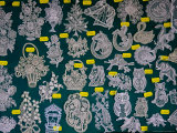 Lace Motifs from Burano for Sale, Venice, Italy Photographic Print by Damien Simonis