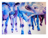 Dutch Cows Giclee Print by M. Dang