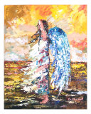 Angel In The Wind Giclee Print by Claude Marshall