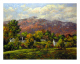 Monadnock Afternoon Photographic Print by Gary Shepard