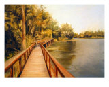 Boardwalk Giclee Print by tara benet