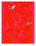 Paper Butterflies Giclee Print by Melodie Cook