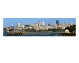 San Francisco-Crissy Field And Skyline Photographic Print by Anna Miller