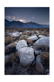 Eastern Sierra Sundown, California Photographic Print by Steve Gadomski