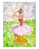 Ballerina - In Retrospect Giclee Print by Mei Ling Loh