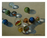 Marbles Photographic Print by Doug Strickland