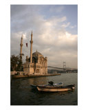 Old And New In Ortakoy, Istanbul,Turkey Photographic Print by Rebecca Erol
