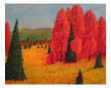 Fall Afternoon Giclee Print by Michael Forzato