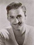 Errol Flynn Film Actor Best Known for His Swashbuckling Roles Photographic Print