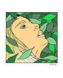 In Leaves Giclee Print by Jonathan Radin
