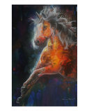 Wild Fire, 3rd Element Fire Giclee Print by Sherry Shipley