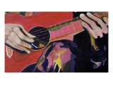 Guitar Giclee Print by Mary Helen Atkins