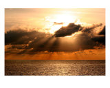 Jamaica Sunset Rays Photographic Print by Ty Michelfelder