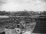 The Dome for the 1951 Festival of Britain Under Construction in London, 1950 Photographic Print
