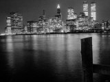 New York at Night Photographic Print