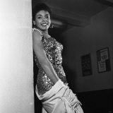 Singer Shirley Bassey, Aged 18, 1955 Fotografie-Druck