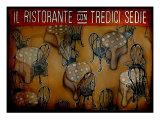 Il Ristorante Con Tredici Sedie Photographic Print by Christopher Camera