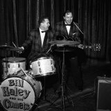 Bill Haley and the Comets at the Hammersmith Palais, February 1957 Fotografie-Druck