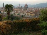 Aerial View of Florence Italy Photographic Print by Keith Levit