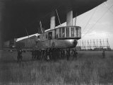Armstrong Whitworth R33 Airship Gondalier at Pulham, April 1925 Photographic Print