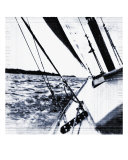 Sailing In The Fifties Photographic Print by Sari Mcnamee