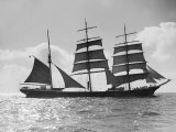 The Windjammer Penang Sailing in the English Channel, 1935 Photographic Print