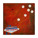 Retro Vegas Photographic Print by Jan Weiss