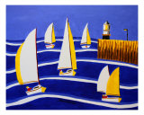 Andys Regatta 2 Photographic Print by Andreas Dambietz