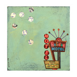 Retro Motel Photographic Print by Jan Weiss