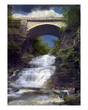September Scholar In Cascadilla Gorge Photographic Print by Michael S Wills