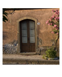 Doorway In Piedimonte Etneo, Sicily Photographic Print by Caimin Jones