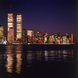 World Trade Center, Night Photographic Print by David Marshall