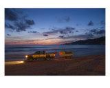 Beach Guard Photographic Print by Spencer Finn