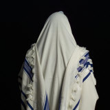 Judaic Symbol, Prayer Shawl, Tallit Impresso fotogrfica por Keith Levit