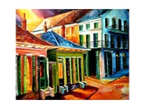 Midnight On Dumaine Street Photographic Print by Diane Millsap