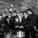 Anna Neagle at the Cavern Club in Liverpool with John Alderton & Terrence Edmond, March 1964 Photographic Print