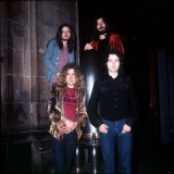 Led Zeppelin Musicians Members of the Band, 1970 Fotografie-Druck