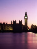 Big Ben at Dusk in London, England Photographic Print