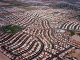 An Aerial View of the Residential Area of Las Vegas, October 2000 Photographic Print
